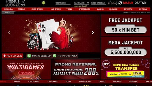 Variasi Card Game Online Poker Lounge99