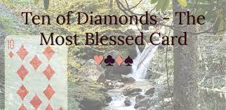 A Brief Word About The Four And Ten Of Diamonds
